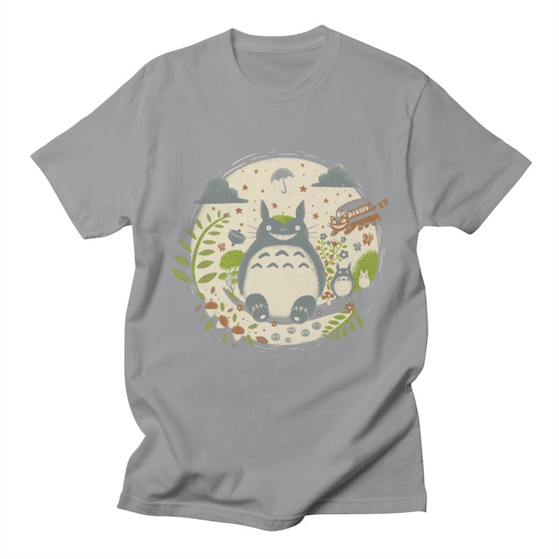 Magical Forest Men's T-shirt by Paula García's Artist Shop
