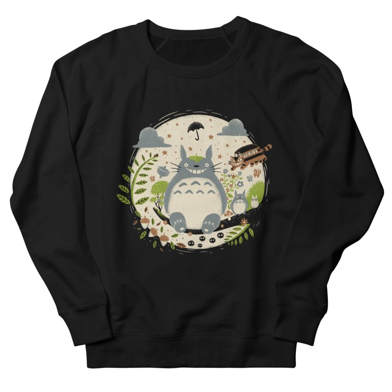Magical Forest Men's Sweatshirt by Paula García's Artist Shop