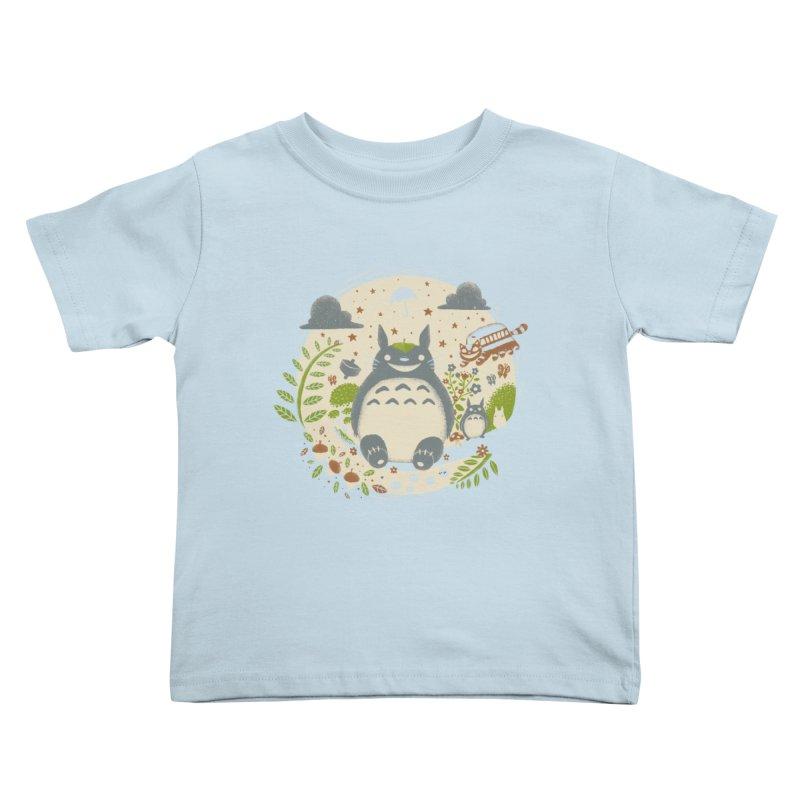 Magical Forest Kids Toddler T-Shirt by Paula García's Artist Shop