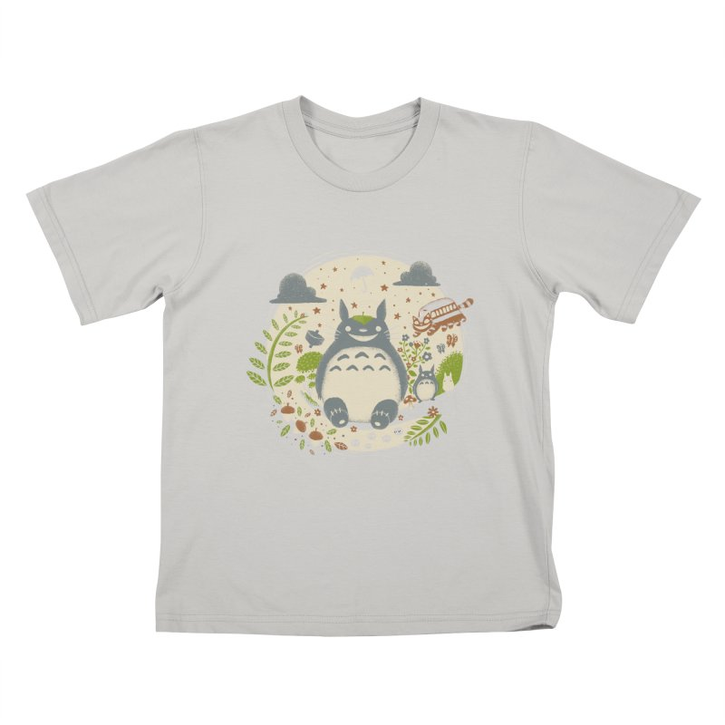 Magical Forest Kids T-shirt by Paula García's Artist Shop