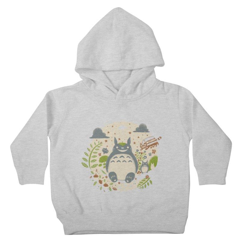 Magical Forest Kids Toddler Pullover Hoody by Paula García's Artist Shop