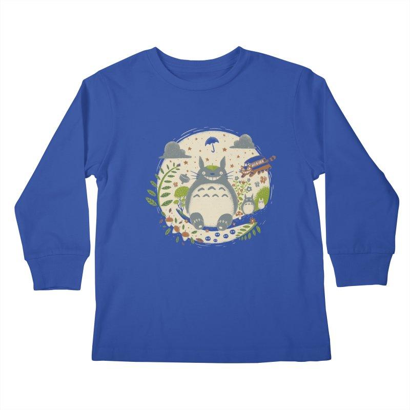 Magical Forest Kids Longsleeve T-Shirt by Paula García's Artist Shop