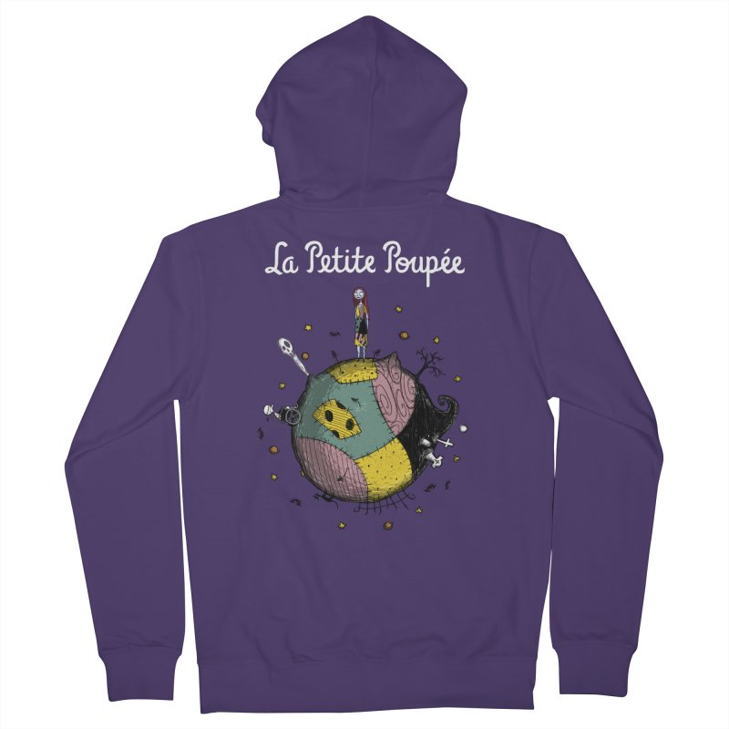 La Petite Poupée Women's Zip-Up Hoody by Paula García's Artist Shop