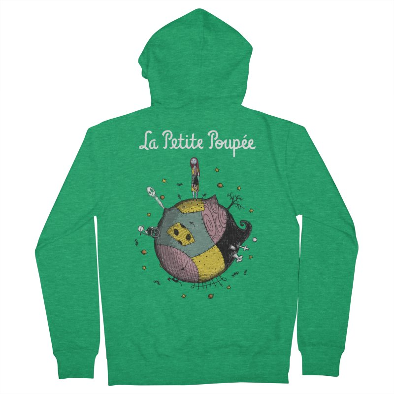 La Petite Poupée Men's Zip-Up Hoody by Paula García's Artist Shop