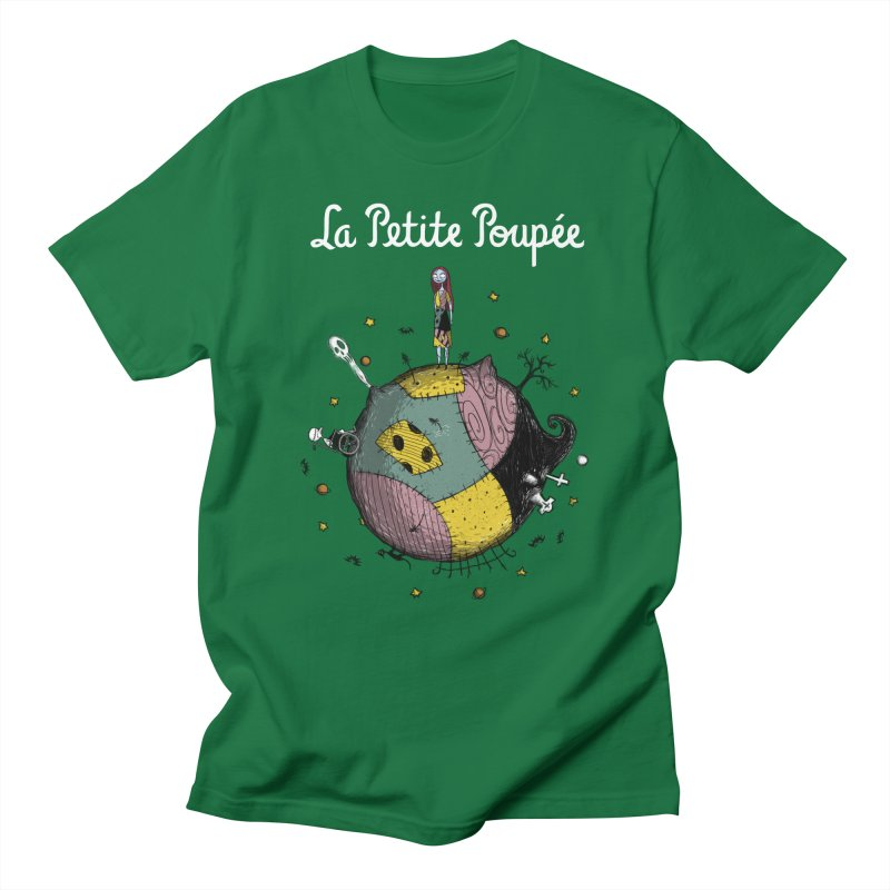 La Petite Poupée Men's T-Shirt by Paula García's Artist Shop