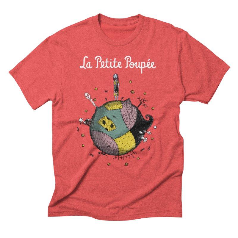 La Petite Poupée Men's Triblend T-Shirt by Paula García's Artist Shop