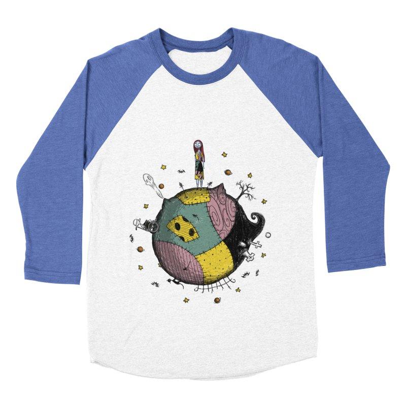 La Petite Poupée Women's Baseball Triblend T-Shirt by Paula García's Artist Shop
