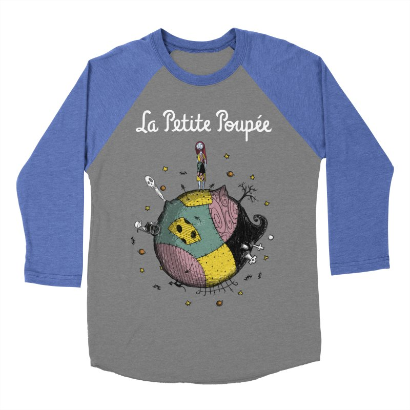La Petite Poupée Men's Baseball Triblend T-Shirt by Paula García's Artist Shop