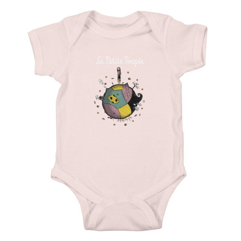 La Petite Poupée Kids Baby Bodysuit by Paula García's Artist Shop
