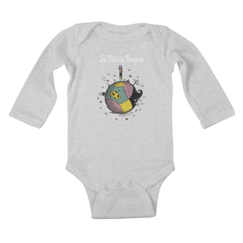 La Petite Poupée Kids Baby Longsleeve Bodysuit by Paula García's Artist Shop