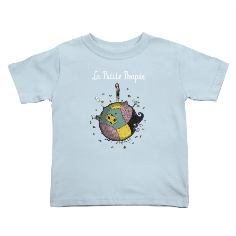 La Petite Poupée Kids Toddler T-Shirt by Paula García's Artist Shop