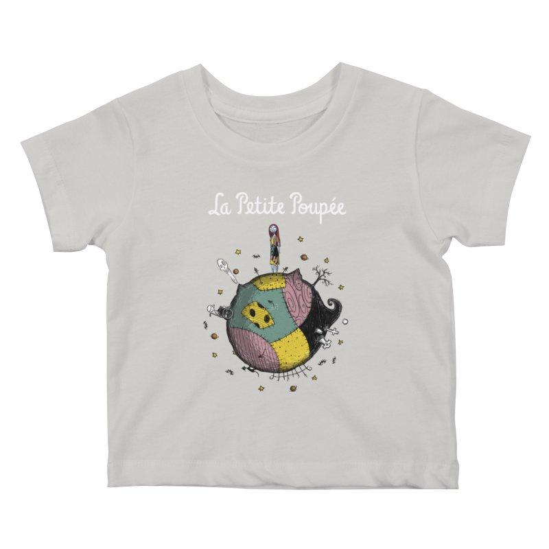 La Petite Poupée Kids Baby T-Shirt by Paula García's Artist Shop