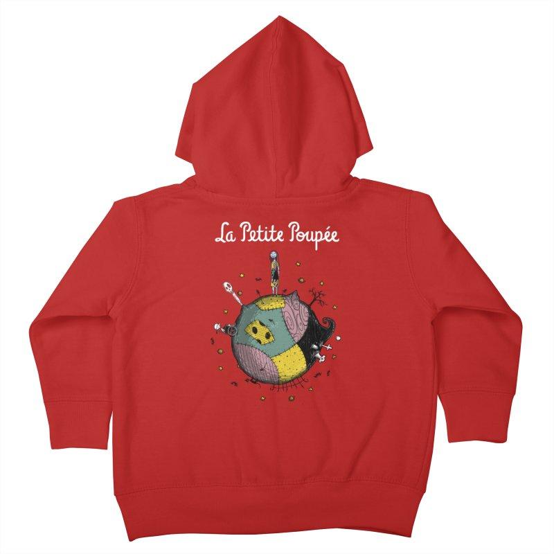 La Petite Poupée Kids Toddler Zip-Up Hoody by Paula García's Artist Shop
