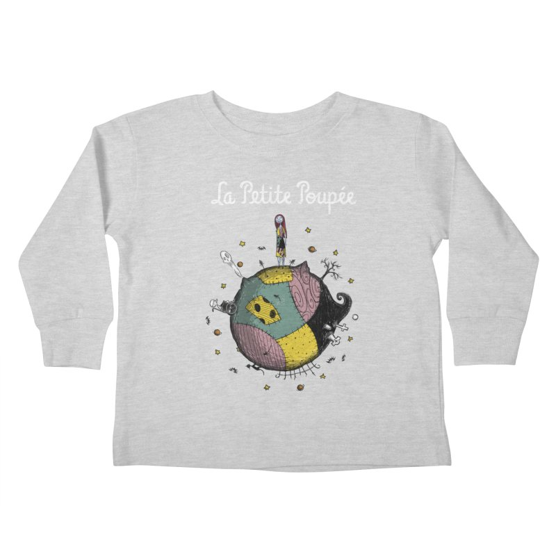 La Petite Poupée Kids Toddler Longsleeve T-Shirt by Paula García's Artist Shop