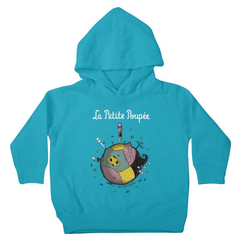 La Petite Poupée Kids Toddler Pullover Hoody by Paula García's Artist Shop