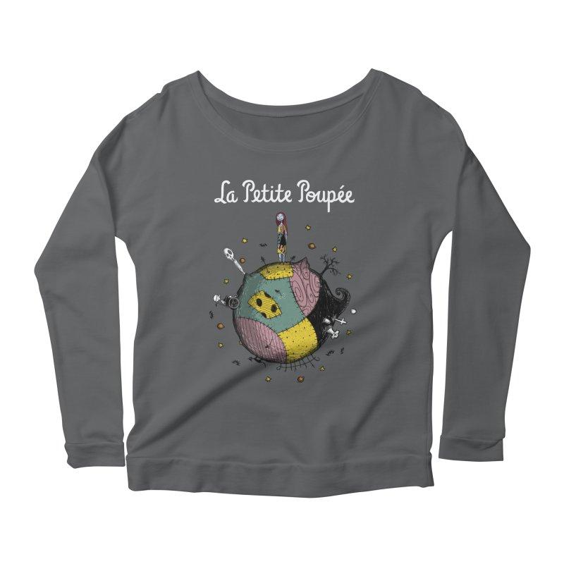 La Petite Poupée Women's Longsleeve Scoopneck  by Paula García's Artist Shop