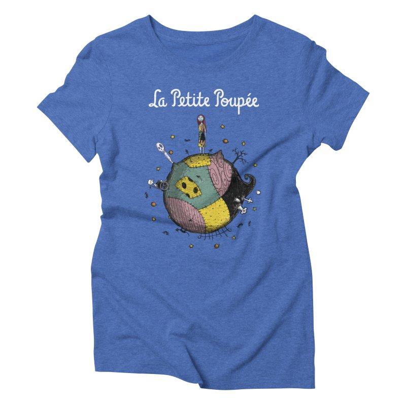 La Petite Poupée Women's Triblend T-Shirt by Paula García's Artist Shop
