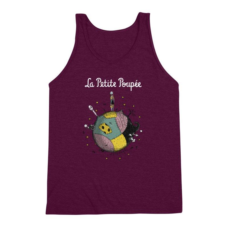 La Petite Poupée Men's Triblend Tank by Paula García's Artist Shop