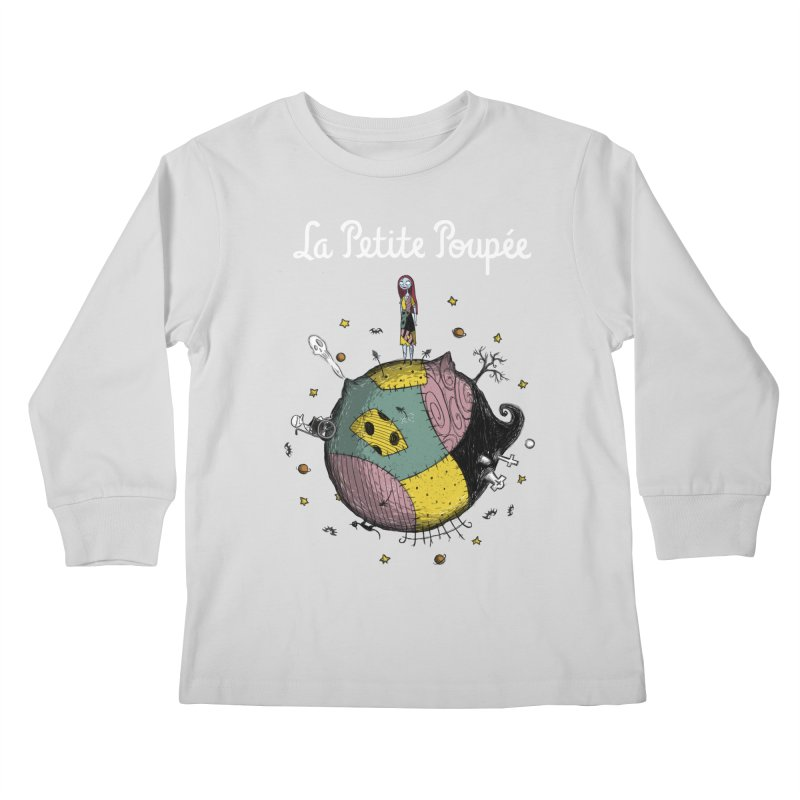 La Petite Poupée Kids Longsleeve T-Shirt by Paula García's Artist Shop