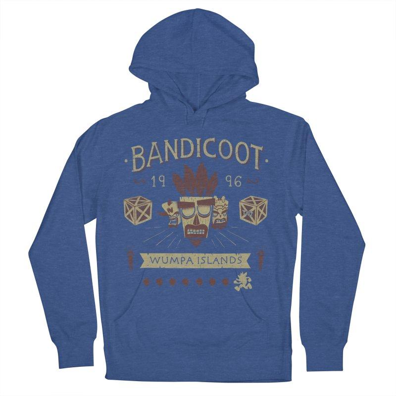 Bandicoot Time Men's Pullover Hoody by Paula García's Artist Shop