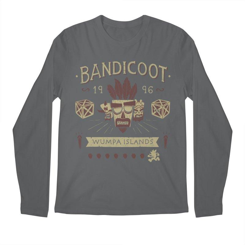Bandicoot Time Men's Longsleeve T-Shirt by Paula García's Artist Shop