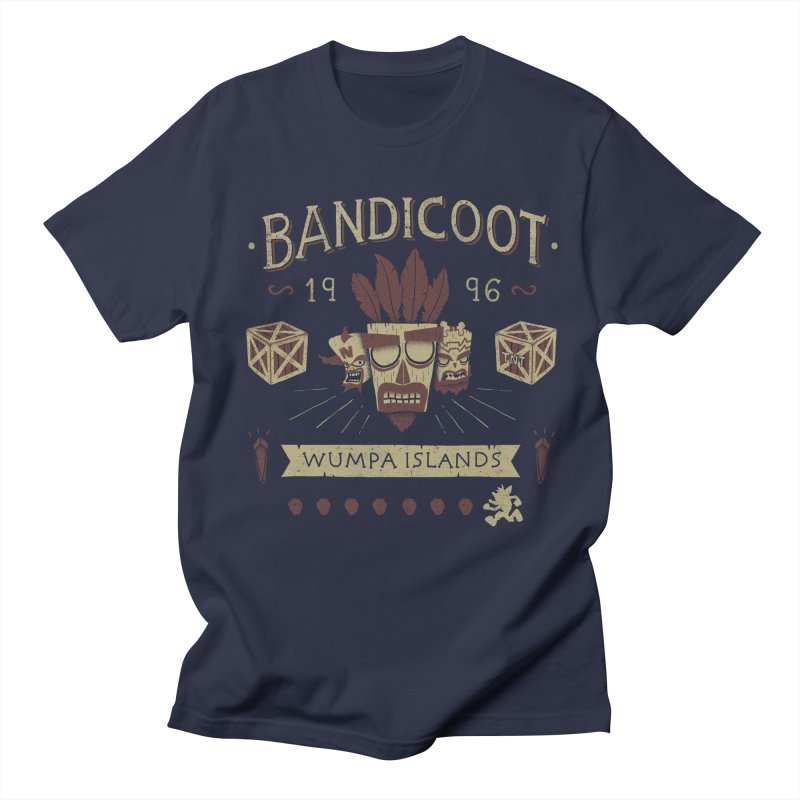 Bandicoot Time Men's T-shirt by Paula García's Artist Shop