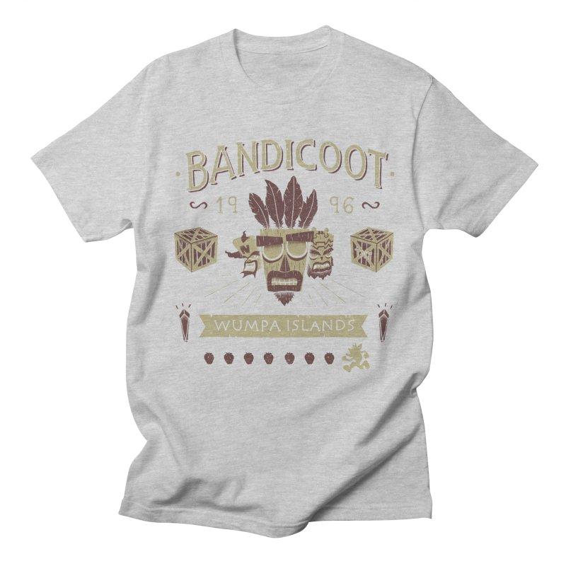Bandicoot Time Men's T-Shirt by Paula García's Artist Shop