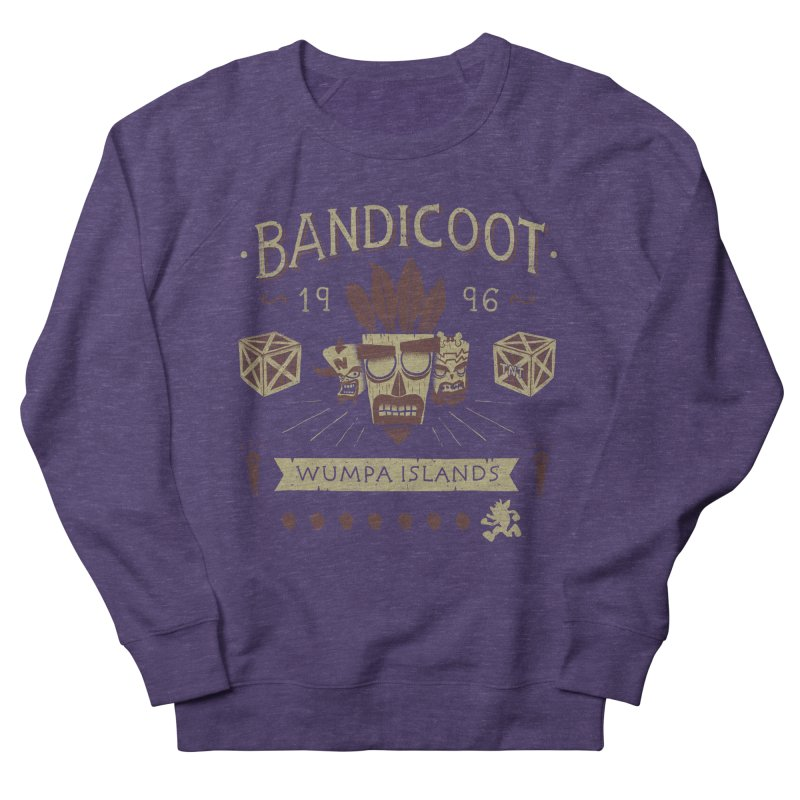 Bandicoot Time Men's Sweatshirt by Paula García's Artist Shop