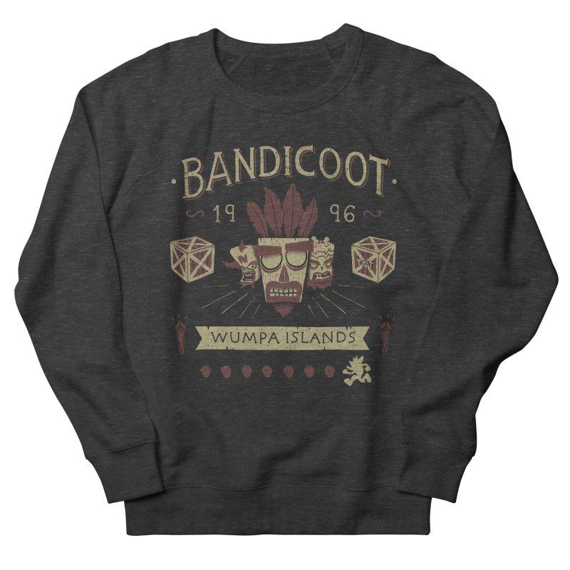 Bandicoot Time Men's Sweatshirt by Paula García's Artist Shop