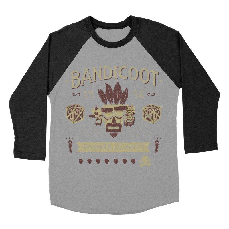 Bandicoot Time Women's Baseball Triblend T-Shirt by Paula García's Artist Shop