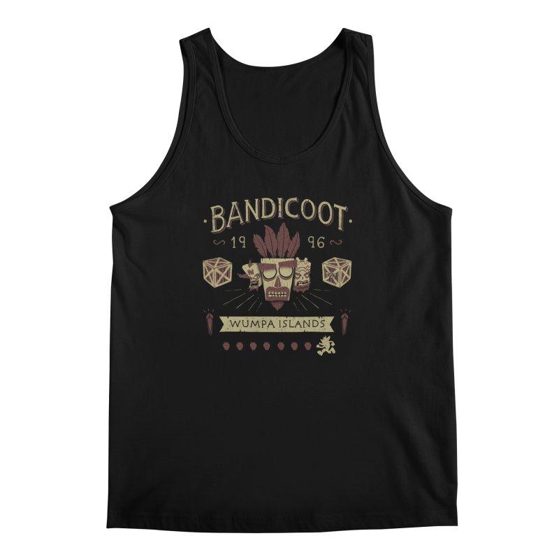 Bandicoot Time Men's Tank by Paula García's Artist Shop