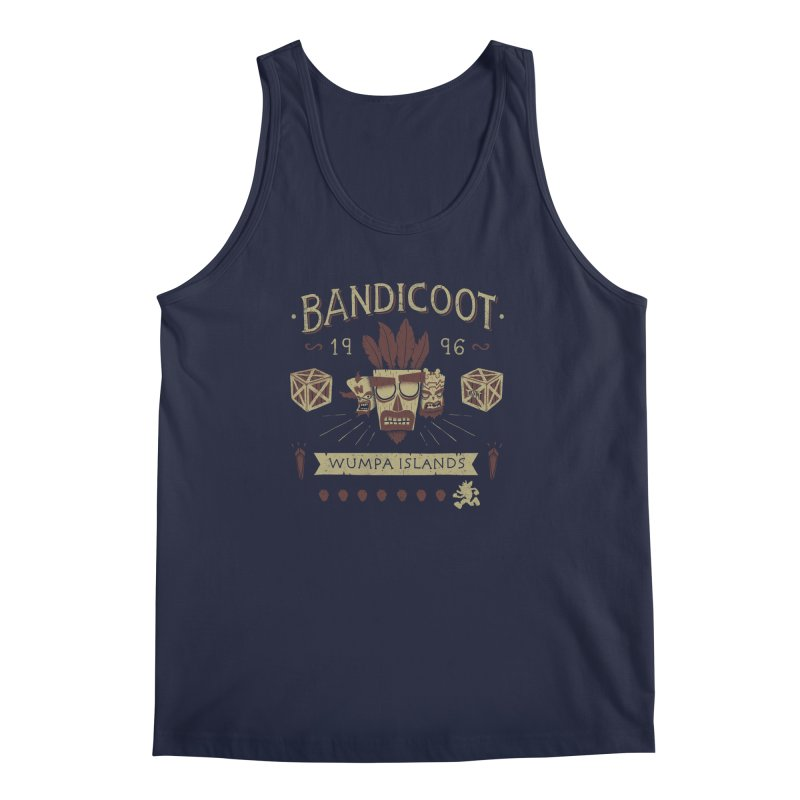 Bandicoot Time Men's Tank by Paula García's Artist Shop