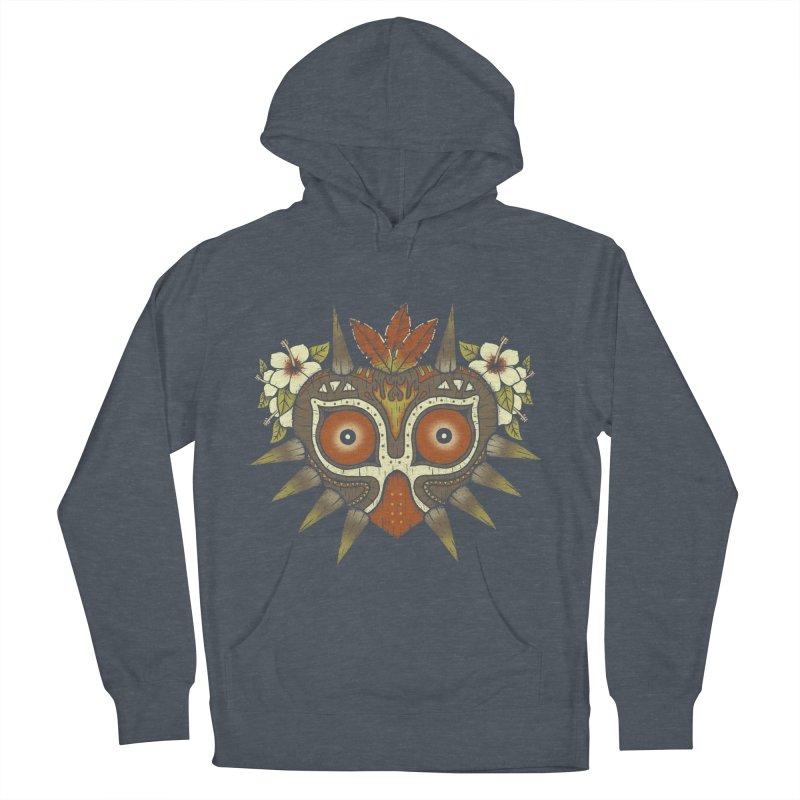 Tiki Majora Women's Pullover Hoody by Paula García's Artist Shop