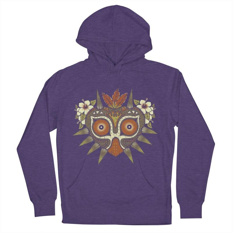 Tiki Majora Men's Pullover Hoody by Paula García's Artist Shop