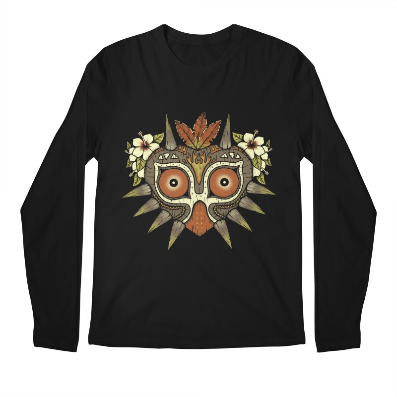 Tiki Majora Men's Longsleeve T-Shirt by Paula García's Artist Shop
