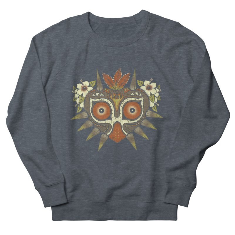 Tiki Majora Men's Sweatshirt by Paula García's Artist Shop