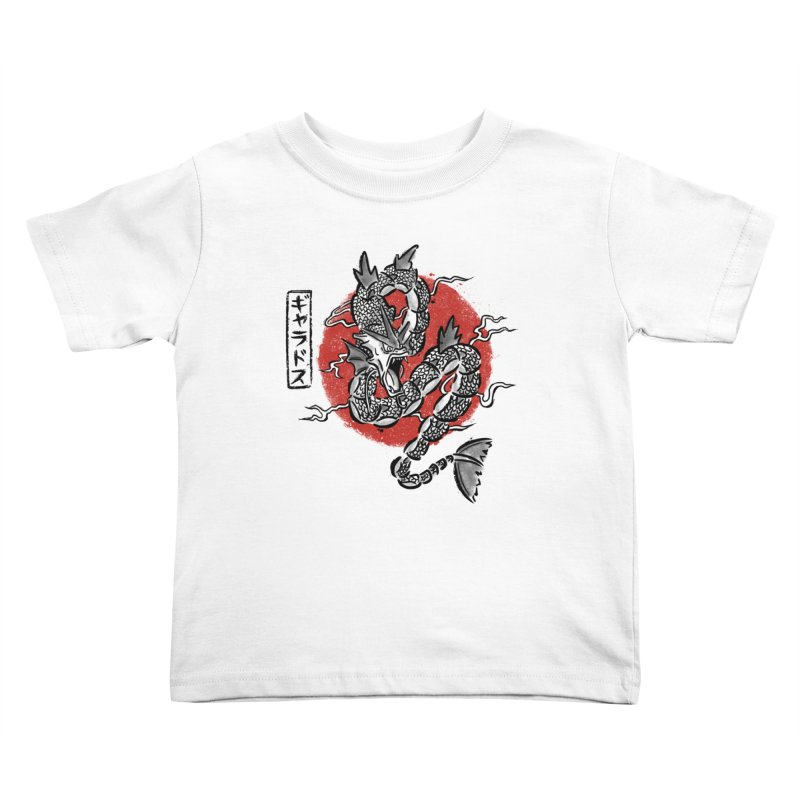 Ryu no inku Kids Toddler T-Shirt by Paula García's Artist Shop