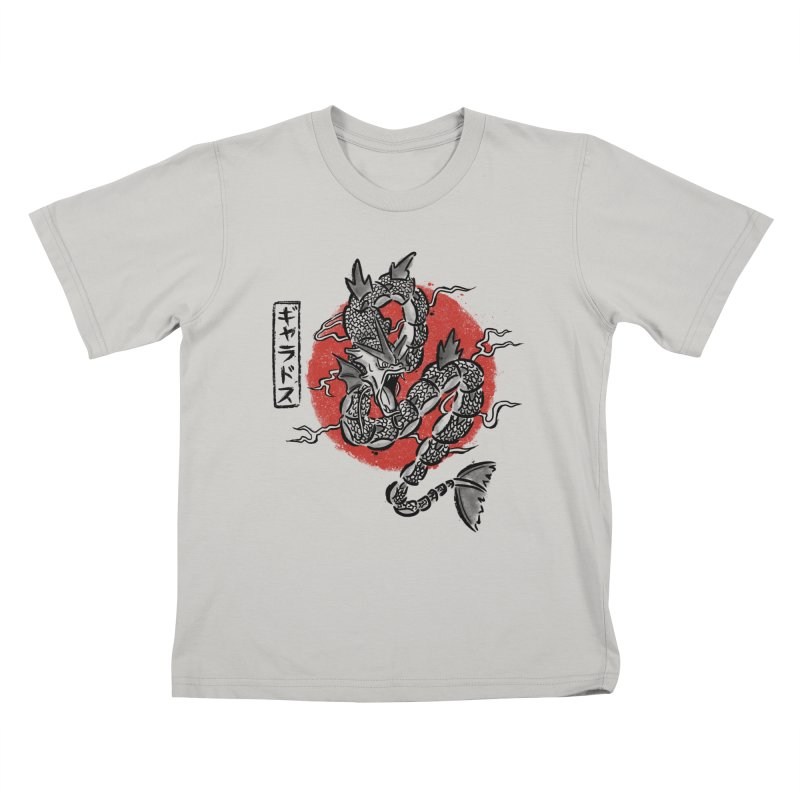 Ryu no inku Kids T-Shirt by Paula García's Artist Shop