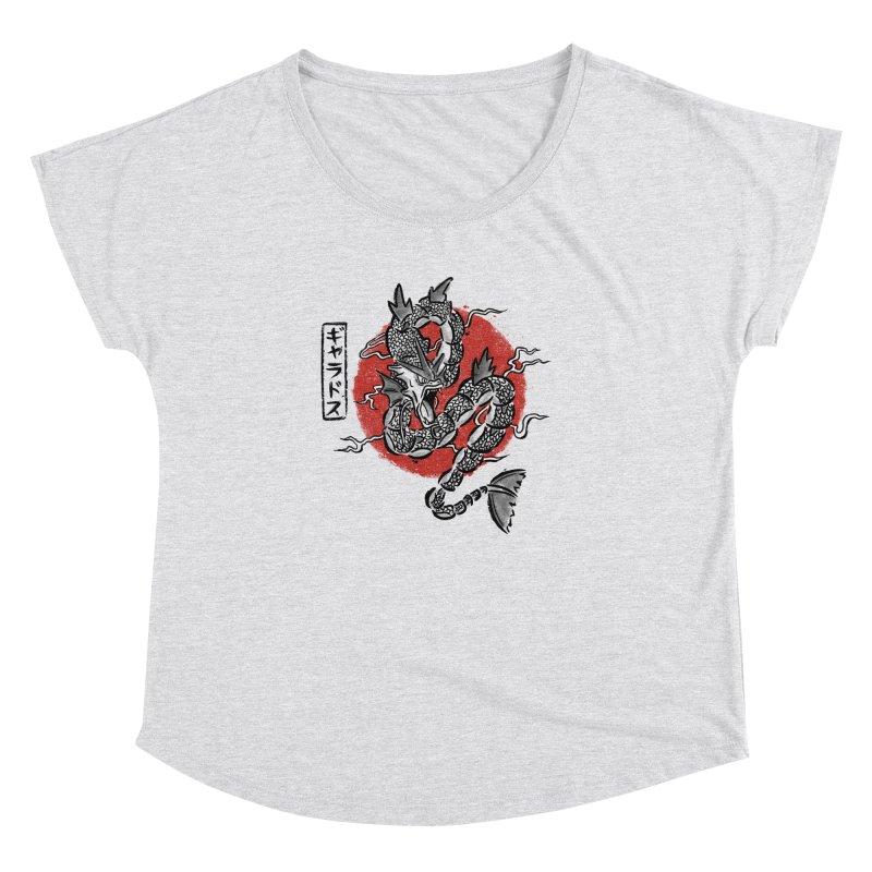 Ryu no inku Women's Dolman by Paula García's Artist Shop