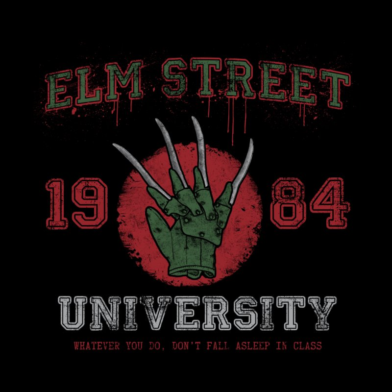 Elm St University   by Paula García's Artist Shop