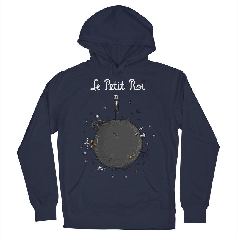 Le Petit Roi Men's Pullover Hoody by Paula García's Artist Shop