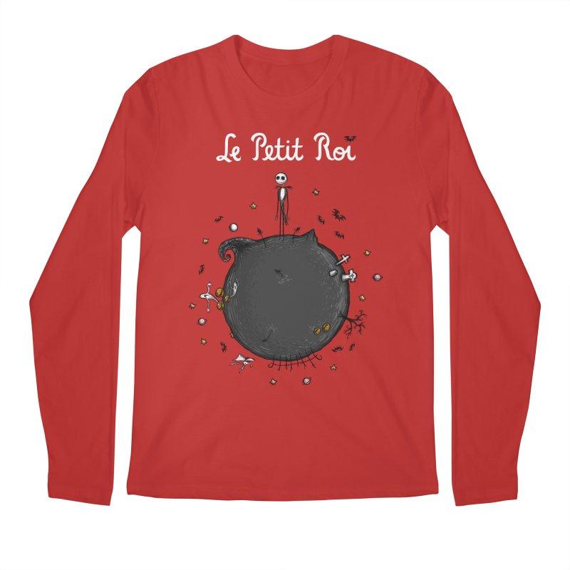 Le Petit Roi Men's Longsleeve T-Shirt by Paula García's Artist Shop