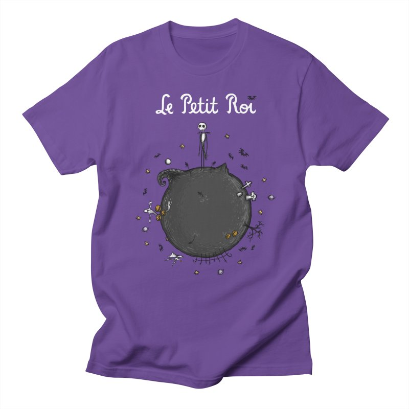 Le Petit Roi Men's T-shirt by Paula García's Artist Shop