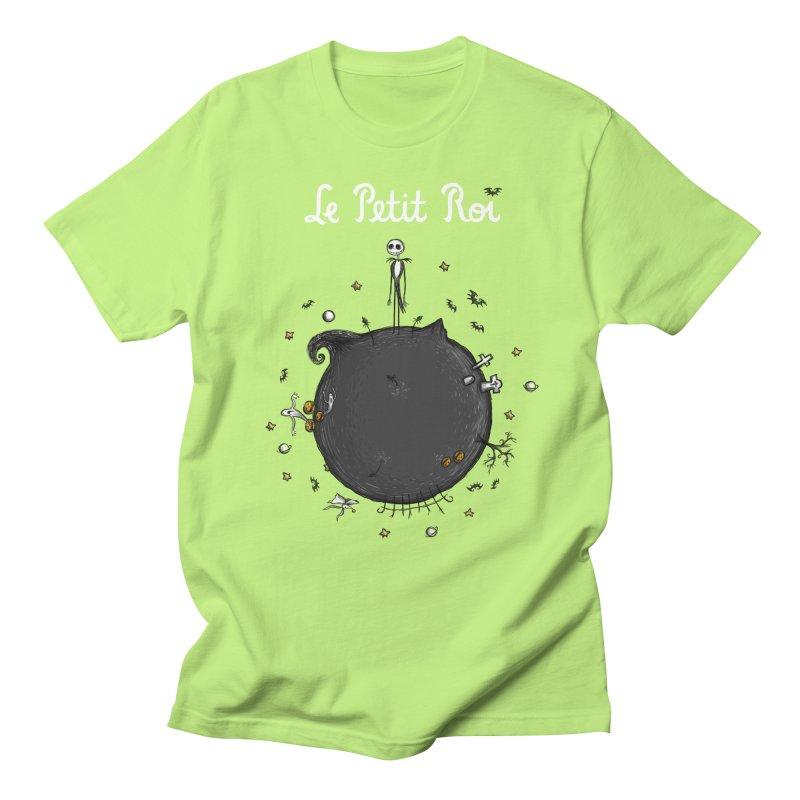 Le Petit Roi Men's T-Shirt by Paula García's Artist Shop