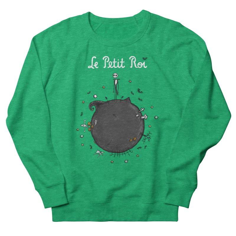 Le Petit Roi Men's Sweatshirt by Paula García's Artist Shop