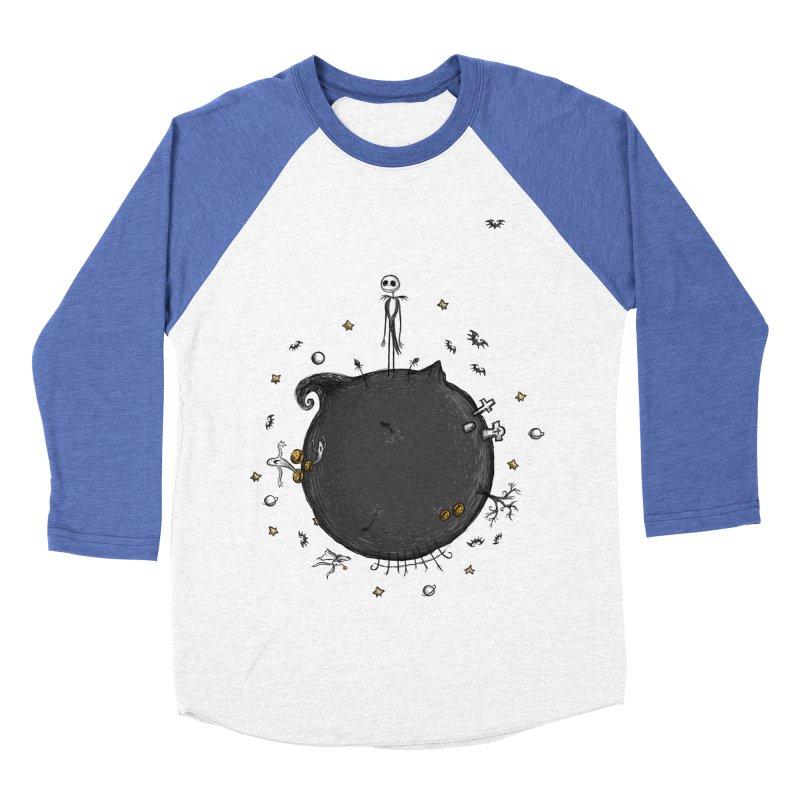 Le Petit Roi Men's Baseball Triblend T-Shirt by Paula García's Artist Shop