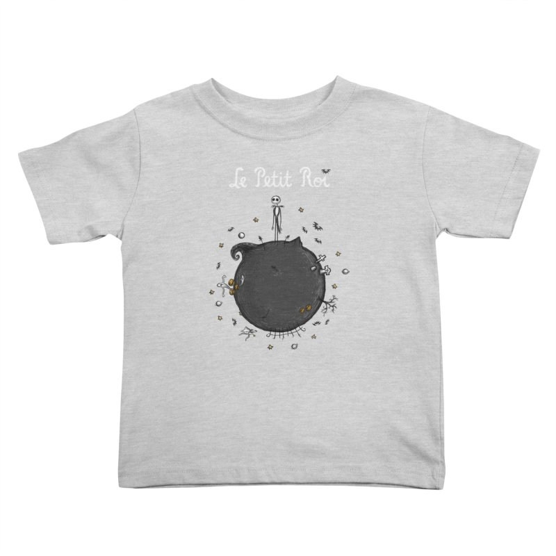 Le Petit Roi Kids Toddler T-Shirt by Paula García's Artist Shop