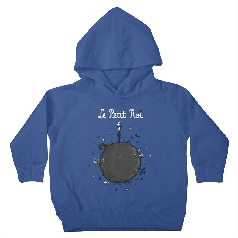 Le Petit Roi Kids Toddler Pullover Hoody by Paula García's Artist Shop