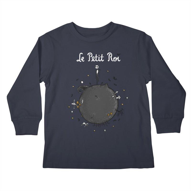 Le Petit Roi Kids Longsleeve T-Shirt by Paula García's Artist Shop