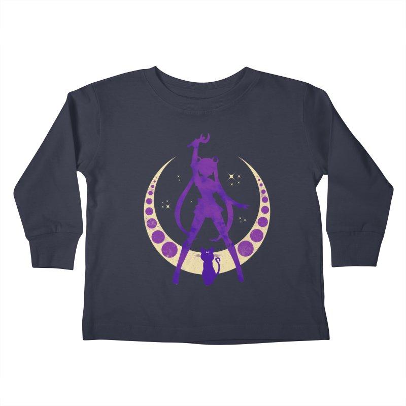 Champion of Justice Kids Toddler Longsleeve T-Shirt by Paula García's Artist Shop